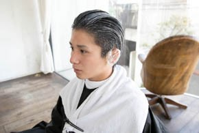 男の縮毛矯正13