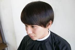 男の縮毛矯正20