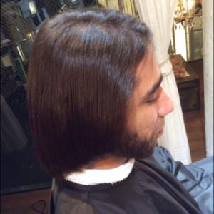 男の縮毛矯正4