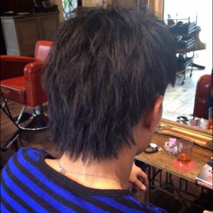 男の縮毛矯正2