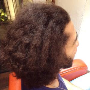 男の縮毛矯正3